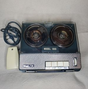 vintage Hamilton reel recorder model 900